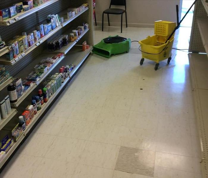 Flooded Retail Store After