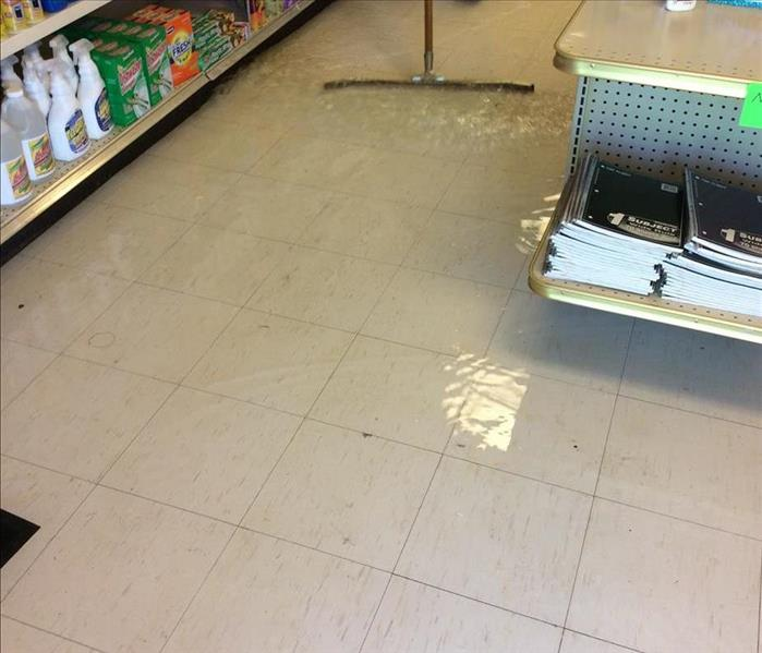 Flooded Retail Store Before