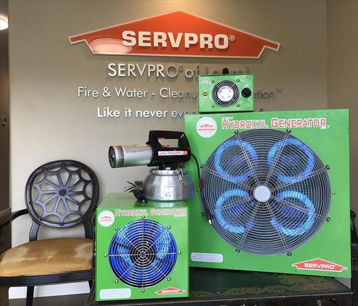 SERVPRO'S Methods of Deodorization