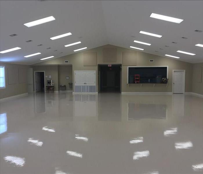 Strip and wax VCT flooring