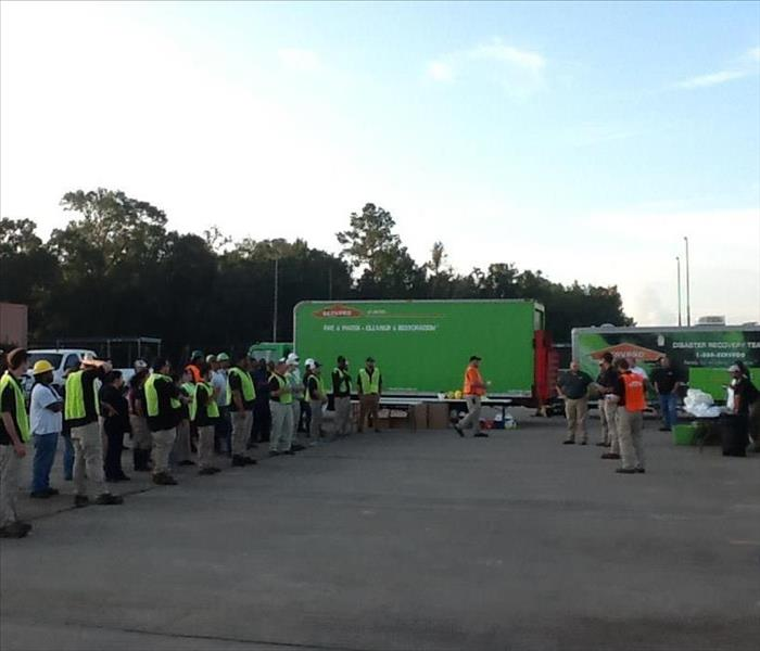 SERVPRO preparing for large loss