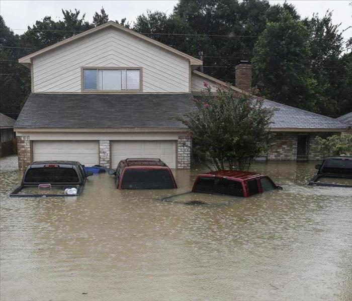 image of a flooded home